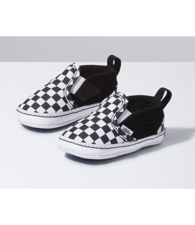 Vans Infant Checker Slip-On V Crib Shoes