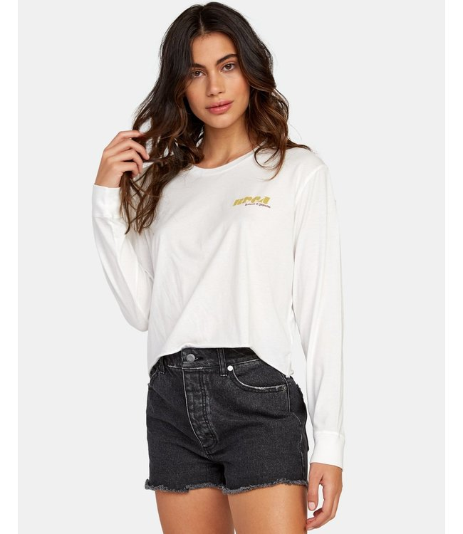 RVCA Breezy Long Sleeve Boyfriend T-Shirt