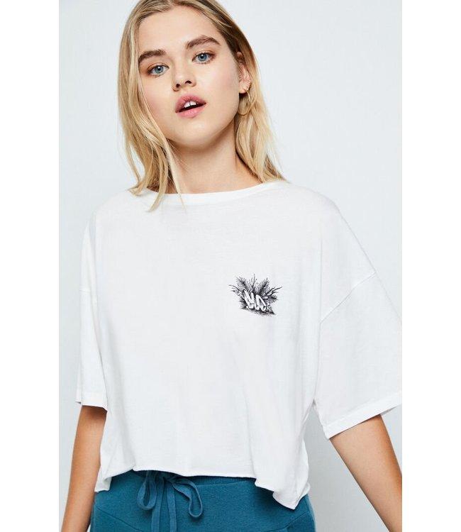 RVCA Tiger Portrait Crop Shirt