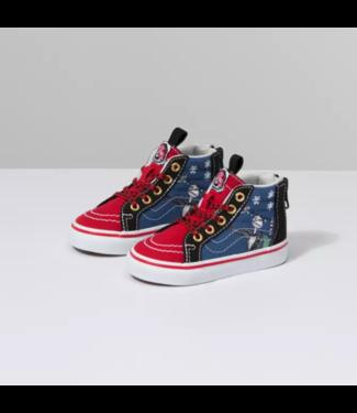 Vans Nightmare Before Christmas Sk8-Hi Zip Toddler Shoes