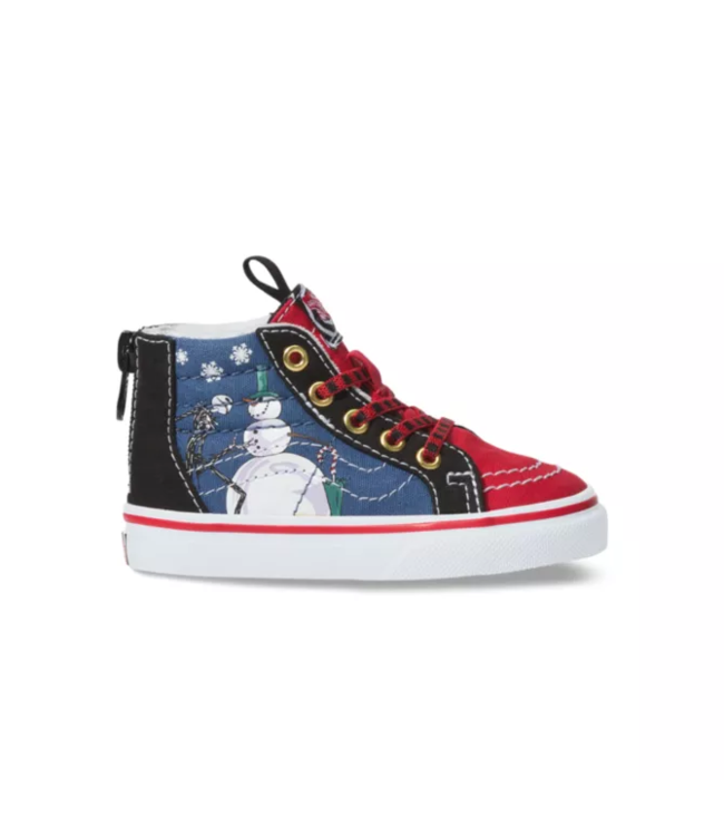 Vans Nightmare Before Christmas Sk8-Hi Zip Toddler Shoes