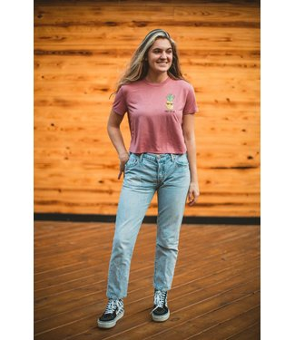 Drift House Women's Pineapple Cropped T-Shirt