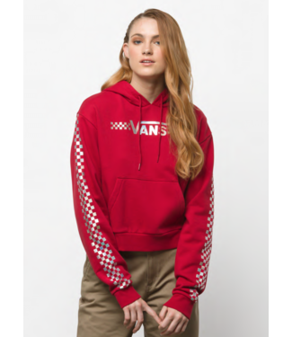 Vans Shine It Iridescent Crop Hoodie