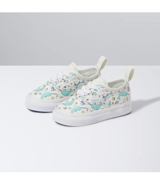 Vans Toddlers Shark Party Authentic Elastics