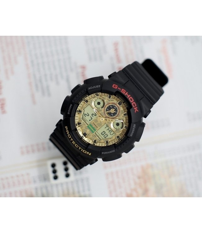 "G-SHOCK GA100TMN-1A ""Lucky Cat"" Watch"