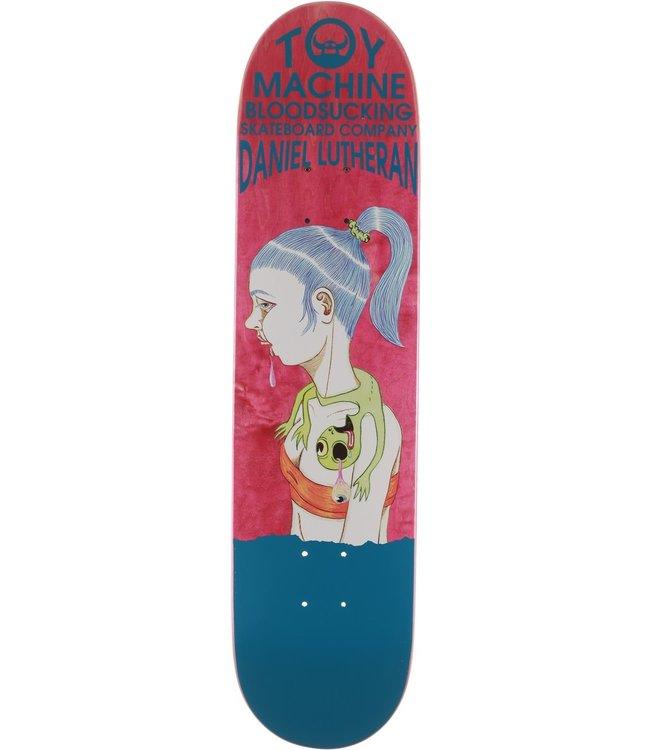 "Toy Machine Skateboards Lutheran Bloodsucking 7.75"" Skate Deck"