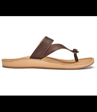 Olukai Kaekae Ko'o Leather Sandals