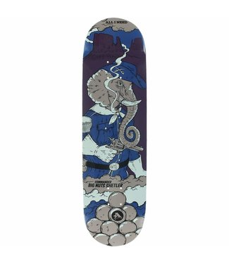 All I Need Shelter Big Nuts Skate Deck