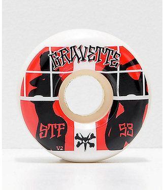 Bones 53mm Gravette Pro STF Peeps Skate Wheels
