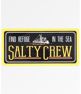 Salty Crew Find Refuge Sticker