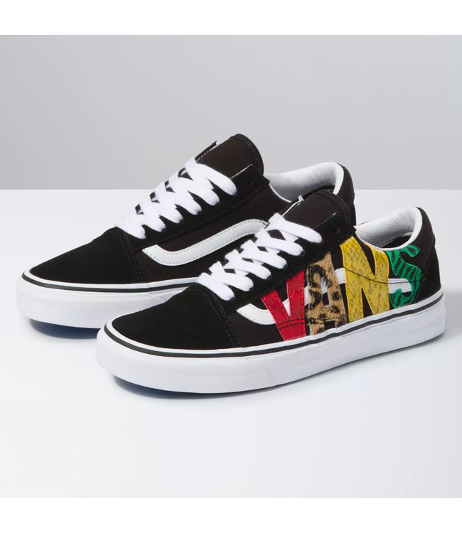Vans Old Skool Animal Print Shoes