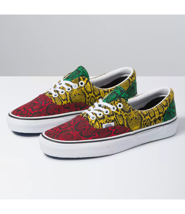 Vans Era Python Print Shoes