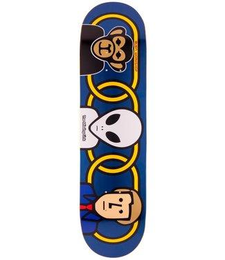 """Alien Workshop Skateboards Missing Link 8.25"""" Deck"""