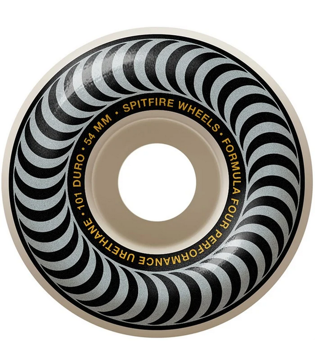 Spitfire Wheels 54mm Swirl Formula 4 Classics Wheels