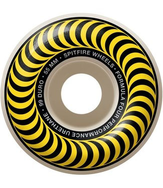 Spitfire Wheels 55mm Swirl Formula 4 Classic Wheels