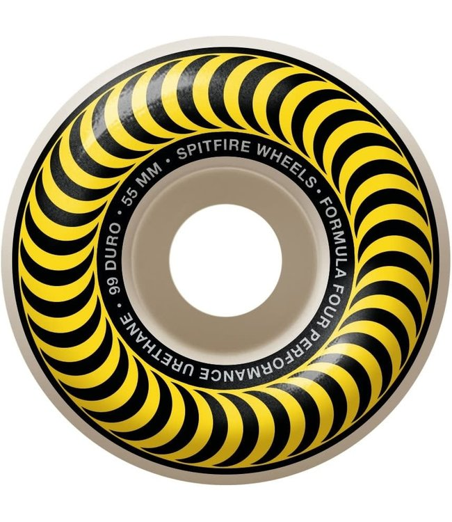 Spitfire Wheels 55mm Swirl Formula 4 Classic Wheels
