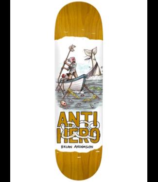 "Anti Hero Skateboards Anderson Plastics 8.4"" Deck"