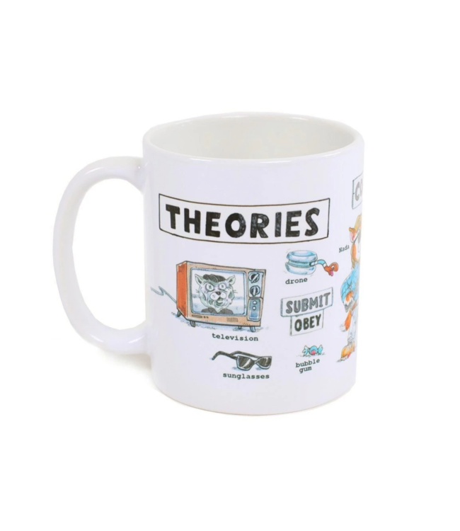 Theories Skateboards Nada Mug