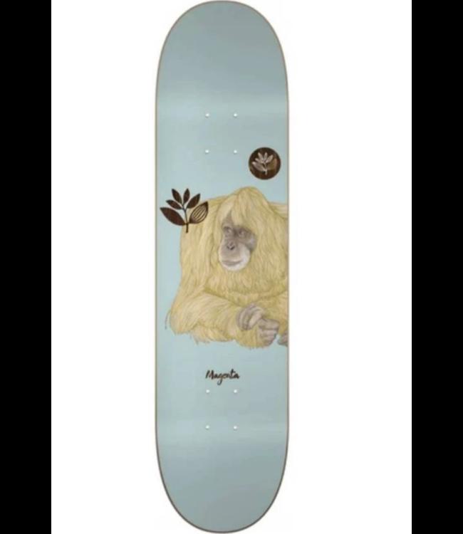 "Magenta Skateboards 8.6"" Spiritual Plant Monkey Deck"