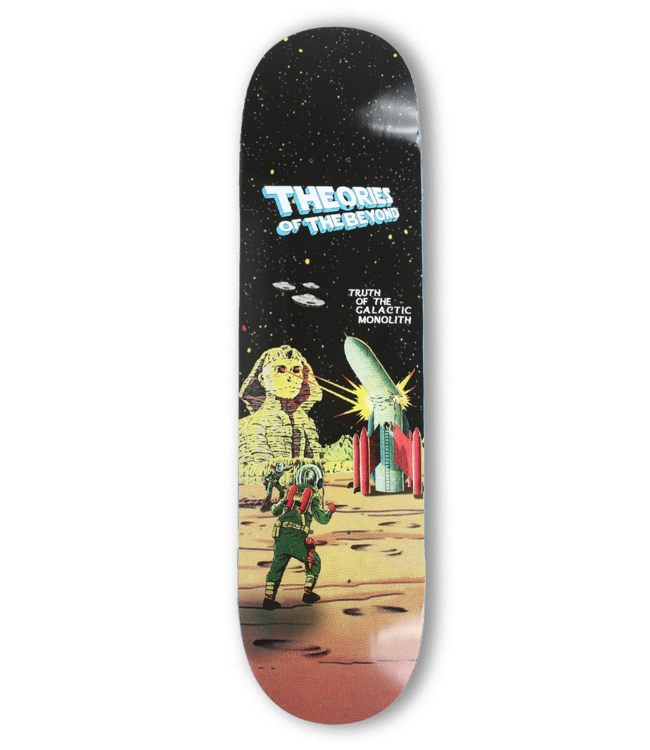 "Theories Skateboards 8.25"" Of The Beyond Deck"