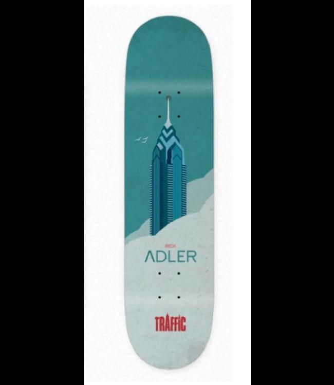 "Traffic Skateboards 8.0"" Cloud City Series Deck"