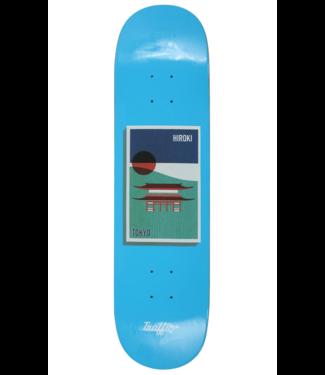 "Traffic Skateboards 8.25"" Hiroki Tokyo Postcard Deck"