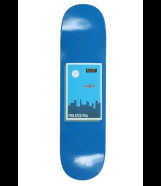 """Traffic Skateboards 8.0"""" Adler Philadelphia Postcard Deck"""