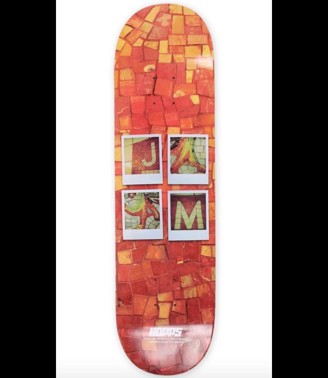 """Hopps Skateboards 8.5"""" Brandi Polaroid Series Meinholz Deck"""