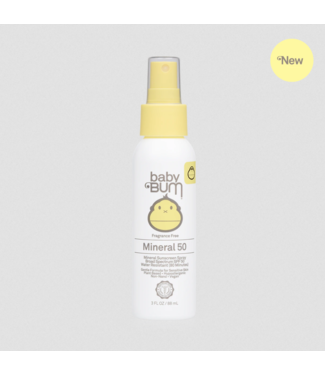 Sun Bum Baby Bum  Mineral SPF 50 Sunscreen Spray