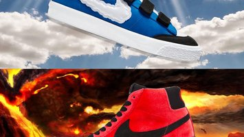 Nike SB  Blazer Mid + Low AC XT \\ Kevin & Hell by Kevin Bradley