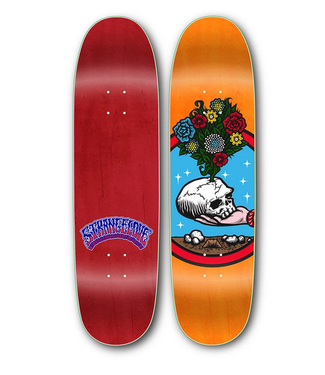 "StrangeLove Skateboards 8.5"" Flowers Deck"