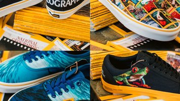 Vans x National Geographic Collaboration Shoe Release