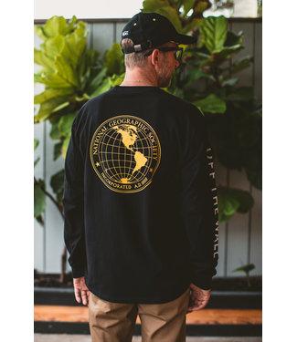 Vans National Geographic Globe Long Sleeve Shirt