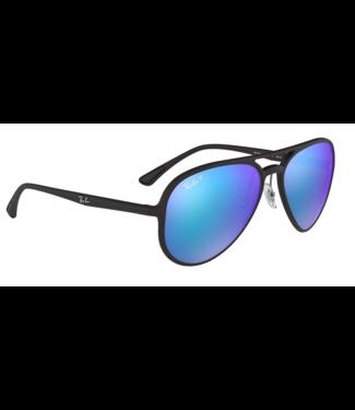 Ray Ban 4320 Chromance Aviator Polar Sunglasses