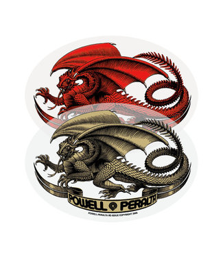 POWELL PERALTA Oval Dragon Sticker
