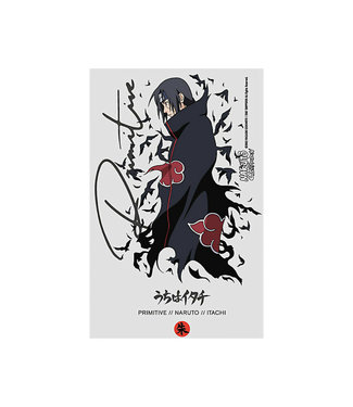 Primitive Skateboards Naruto Crows Sticker