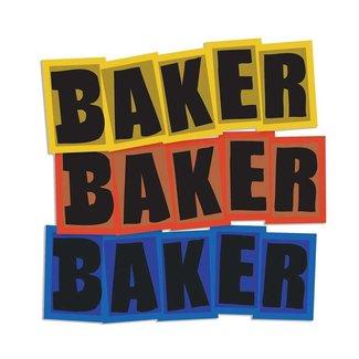 Baker Skateboards Brand Logo Sticker