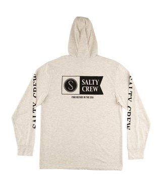 Salty Crew Alpha Refuge UV Hood Shirt