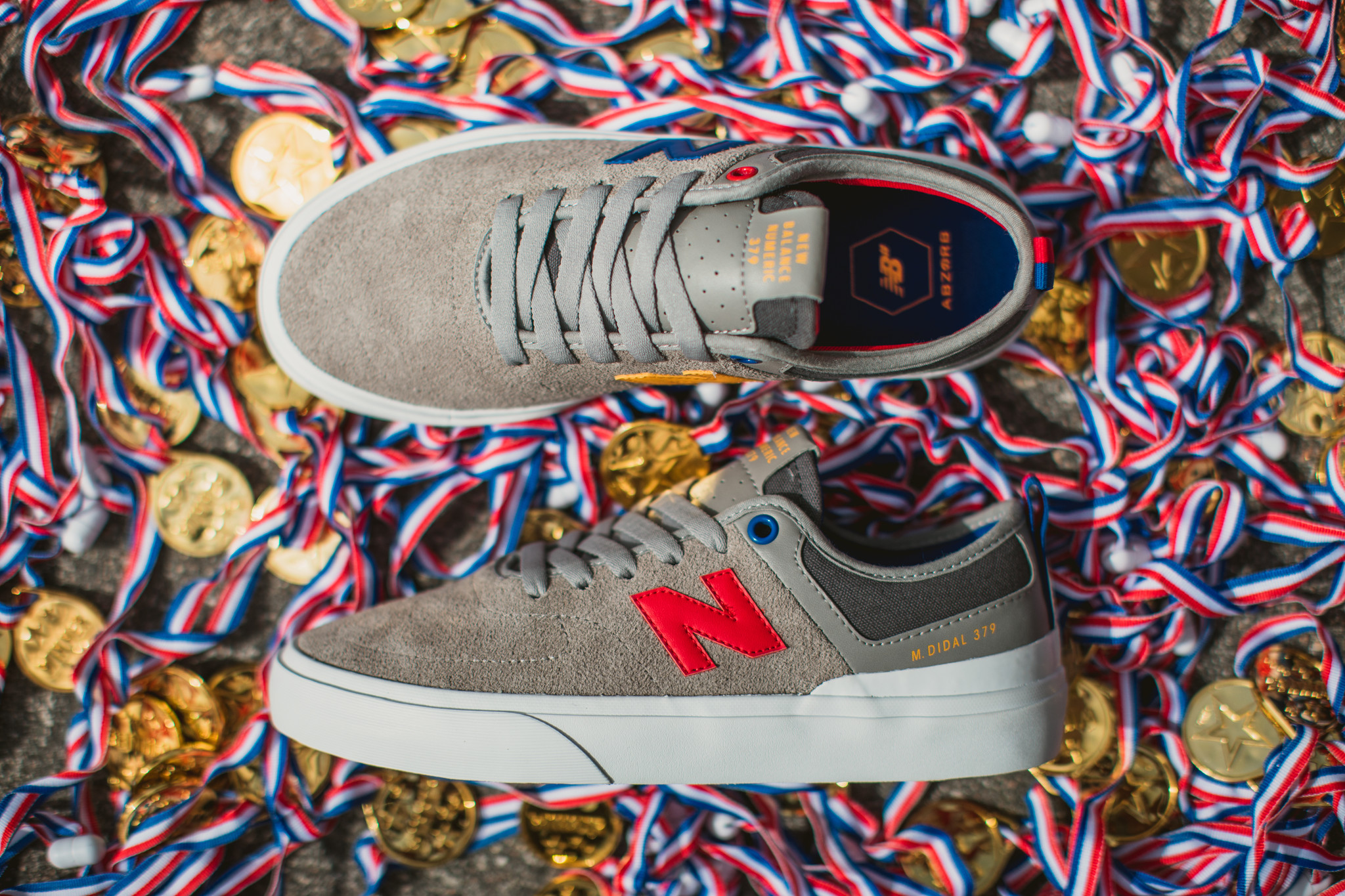 Margielyn Didal's New Pro Model 379 from New Balance Numeric