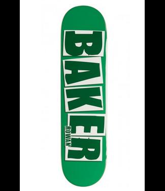 """Baker Skateboards 7.875"""" Rowan Brand Name Deck"""