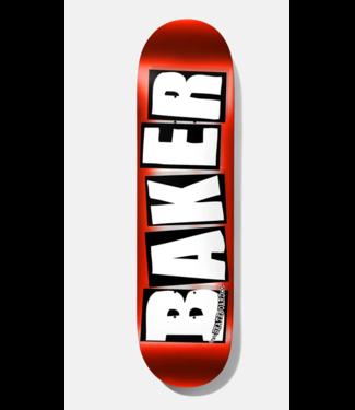 """Baker Skateboards 8.25"""" Brand Logo Foil Deck"""