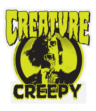 Creature Creepy Mylar Sticker