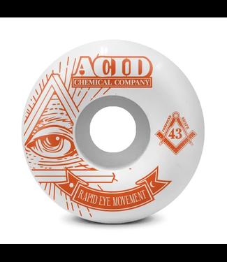 Acid Chemical Co. 55mm REM 99a Pyramid Wheels