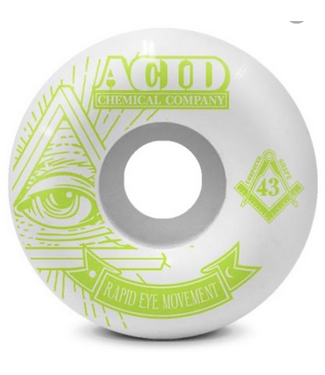 Acid Chemical Co. 58mm REM 101a Pyramid Wheels