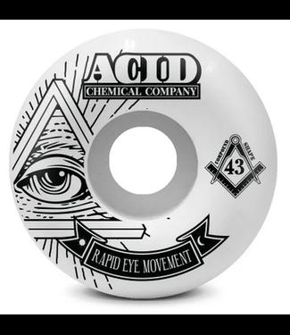 Acid Chemical Co. 54mm REM 101a Pyramid Wheels