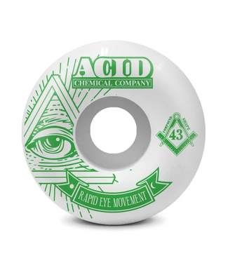 Acid Chemical Co. 56mm REM 101a Pyramid Wheels