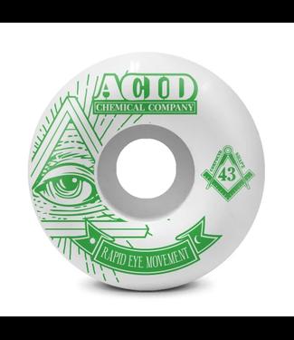 Acid Chemical Co. 56mm REM 99a Pyramid Wheels