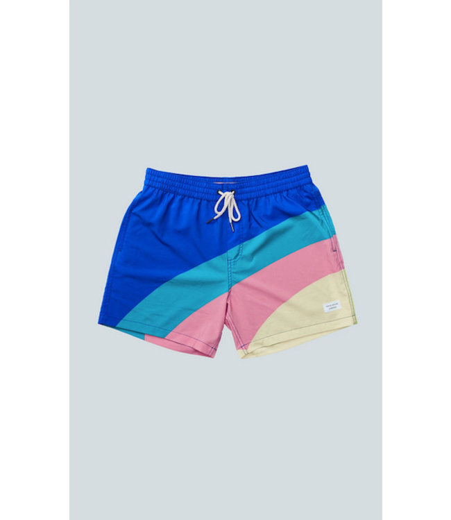 Duvin Design Co. Side Horizon Swim Shorts