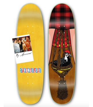 "StrangeLove Skateboards 8.875"" Bird & Bush Deck"