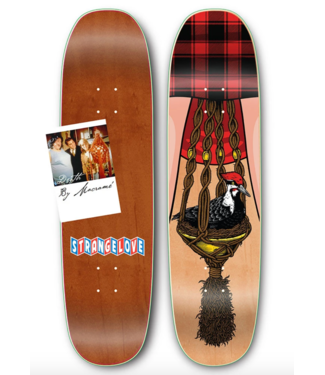 "StrangeLove Skateboards 8.625"" Bird & Bush Deck"